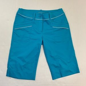 Nike Golf Blue Capri Shorts EUC Dri Fit 4